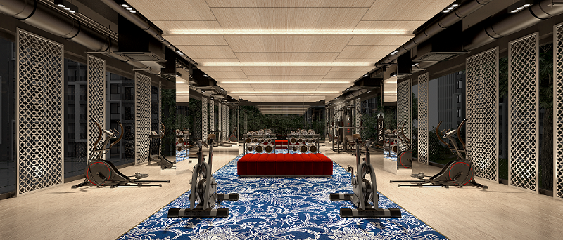 the base central phuket fitness room